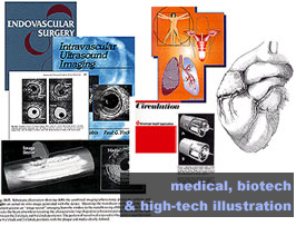 medical and biotech illustration